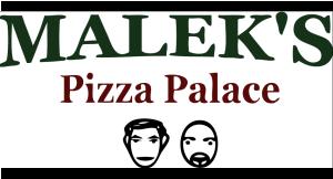 Malek's Pizza Palace logo