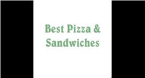 Best Pizza & Sandwiches logo