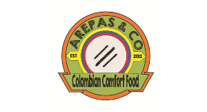 Arepas & Co. Colombian Comfort Food logo