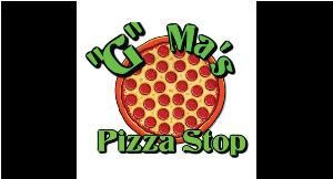 G Ma's Pizza Stop logo