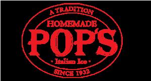 Pop's Water Ice logo