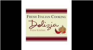Delizia Pizza logo