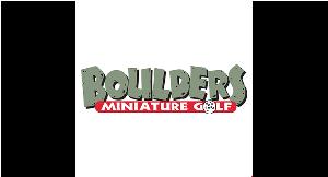 Boulders Miniature Golf logo