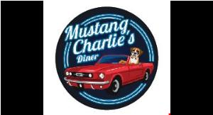 Mustang Charlie's Diner logo