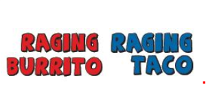 Raging Burrito logo