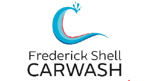 Product image for Frederick Shell Carwash $3 off min. $15 wash.