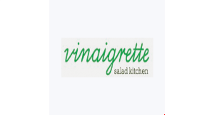 Product image for Vinaigrette Salad Kitchen $2 OFF any purchase of $10 or more.