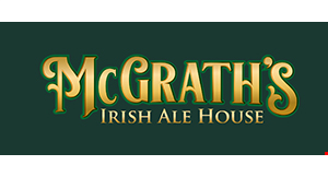 Product image for McGrath's Irish Ale House $10 OFF any purchase of $40 or more.