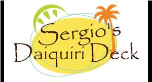 Sergio's Daiquiri Deck logo