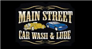Main Street Car Wash & Lube logo