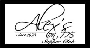 Alex's on 725 logo