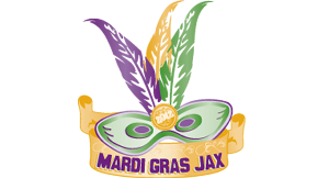 Mardi Gras Jax logo