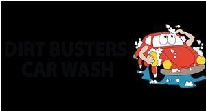 Dirt Busters Car Wash logo