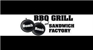 Bomb Bomb BBQ Grill logo