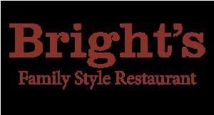 Bright's Family Style Restaurant logo