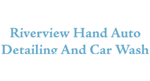 Riverview Hand Auto Detailing and Car Wash logo
