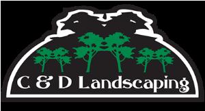 C & D Landscaping logo
