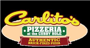 Carlito' Pizzeria at The Cubby Hole logo