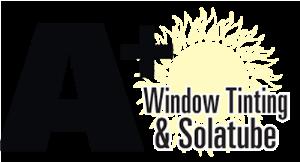 A+ Detailing, Window Tinting & Solatube logo