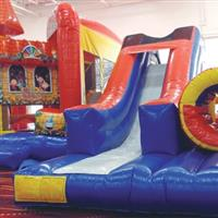 $22.50 For 1 Large Pizza, 1 Pitcher Of Soda, 20 Game Tokens & Two 2-Hour Bounce Wristbands (Reg. $45)