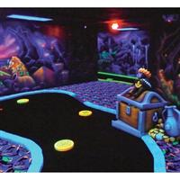 $14 For Black Light Mini Golf & TimeFreak For 2 Adults (Reg. $28)