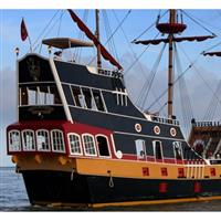 $34.95 for Two Admissions for The Treasure Hunt on The Black Raven Pirate Ship (Reg $69.90) 139529