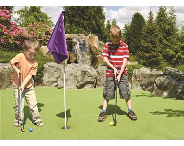 Dulles Golf Center & Sports Park - $19 For 2 Rounds Of Miniature Golf, 2 Small Buckets Of Range Balls & 4 Tokens For The Batting Cages For 2 (Reg. $38)