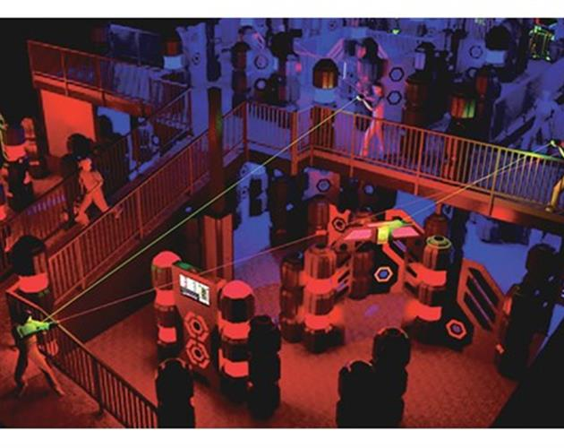 Ultrazone - $15 For 1 VIP Admission To Play All-Day Laser Tag (Reg. $29.99)